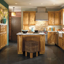 Rustic kitchen cabinet design