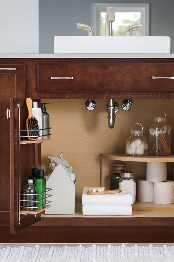 Sink Base Supercabinet With Tip Out Trays Aristokraft